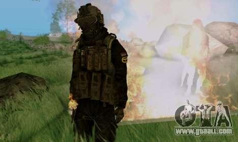 Kopassus Skin 3 for GTA San Andreas seventh screenshot