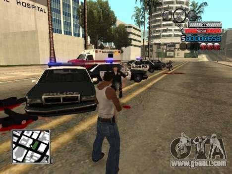 The new C-HUD for GTA San Andreas fifth screenshot