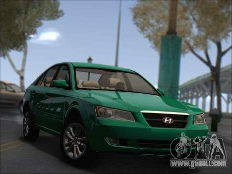 Hyundai Sonata 2009 for GTA San Andreas