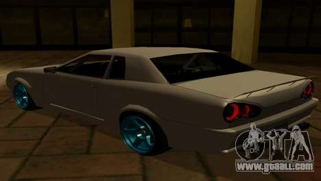 Elegy AssemblY for GTA San Andreas side view