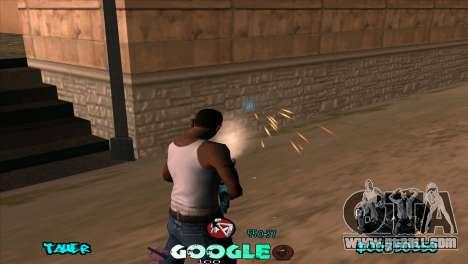 C-HUD Google for GTA San Andreas forth screenshot