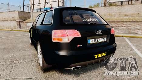 Audi S4 Avant TEK [ELS] for GTA 4 back left view