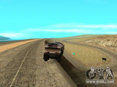Anti-uncoupling trailer for GTA San Andreas second screenshot