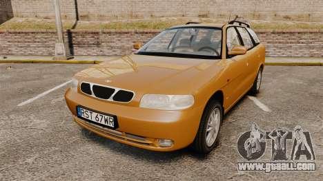 Daewoo Nubira I Wagon CDX PL 1998 for GTA 4