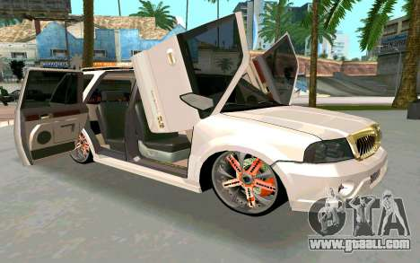 Lincoln Navigator DUB Edition for GTA San Andreas right view