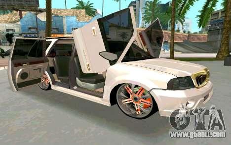 Lincoln Navigator DUB Edition for GTA San Andreas right view