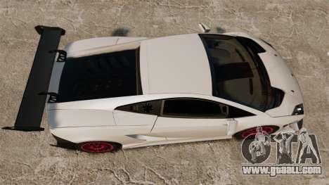 Lamborghini Gallardo LP570-4 Super Trofeo for GTA 4 right view