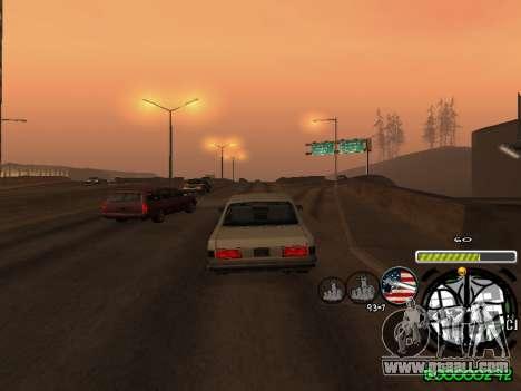 C-HUD Andy Cardozo for GTA San Andreas sixth screenshot