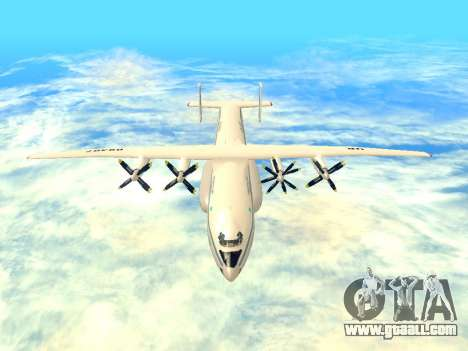 An-22 Antei for GTA San Andreas inner view