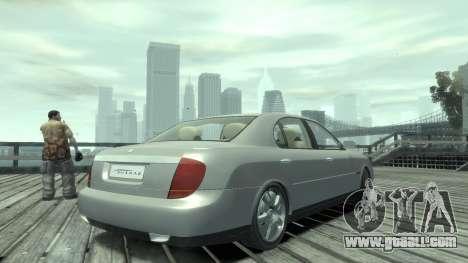 Daewoo Shiraz for GTA 4 left view