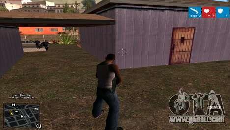 C-HUD Lumia GTA V for GTA San Andreas third screenshot