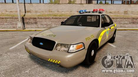 Ford Crown Victoria NLSP [ELS] for GTA 4