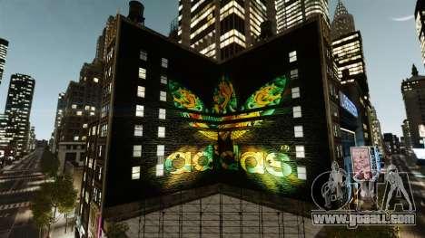 Big advertising Adidas Originals for GTA 4 second screenshot