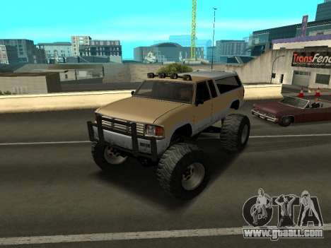 New Monster for GTA San Andreas left view