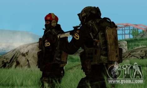 Kopassus Skin 3 for GTA San Andreas fifth screenshot