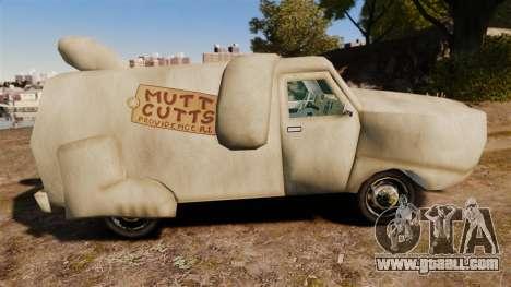 Van-clueless- for GTA 4 left view