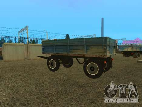 Trailer for ZIL 130 for GTA San Andreas right view