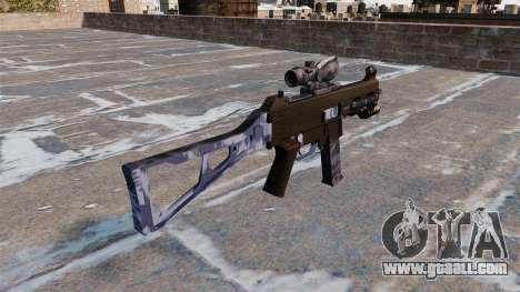 The submachine gun UMP45 for GTA 4 second screenshot