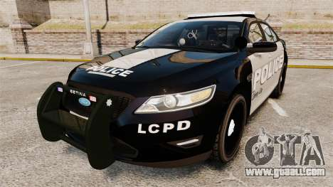 Ford Taurus LCPD Interceptor 2011 [ELS] for GTA 4