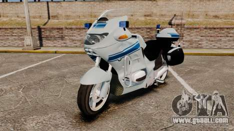 BMW R1150RT Police municipale [ELS] for GTA 4