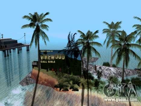 New island v1.0 for GTA San Andreas forth screenshot