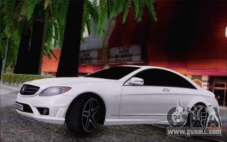 Mercedes-Benz CL65 AMG for GTA San Andreas left view