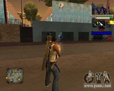 C-HUD FBI By iFreddy for GTA San Andreas