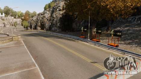 Rally track for GTA 4 seventh screenshot