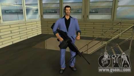 M249 из Battlefield 2 for GTA Vice City third screenshot