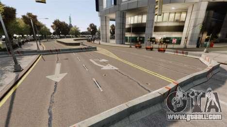 Illegal street drift track for GTA 4