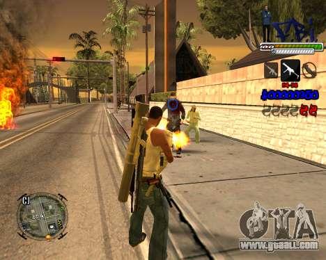 C-HUD FBI By iFreddy for GTA San Andreas third screenshot