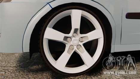 Chevrolet Corsa Premium Sedan for GTA 4 back view