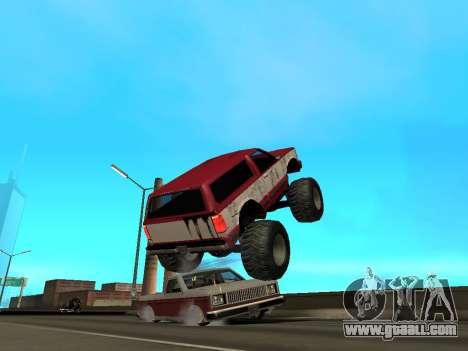 Street Monster for GTA San Andreas interior