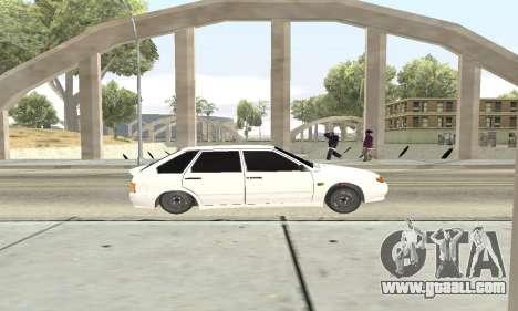 VAZ 2114 Avtosh for GTA San Andreas back view