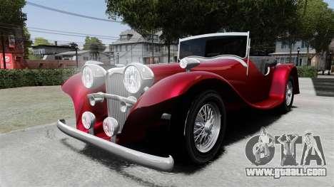 Jaguar SS100 for GTA 4