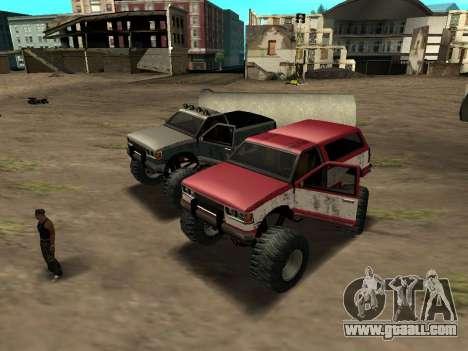 Street Monster for GTA San Andreas left view