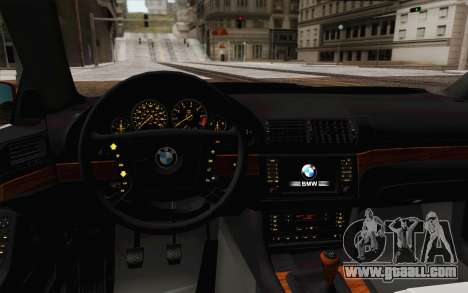 BMW M5 E39 2003 for GTA San Andreas
