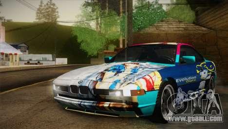 BMW M8 Custom for GTA San Andreas side view