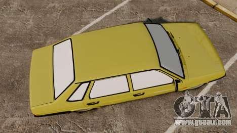 VAZ-21099 Lada Sputnik for GTA 4 right view