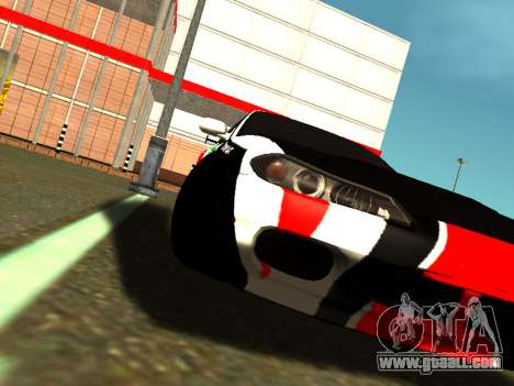 Nissan Silvia S15 Team Dragtimes for GTA San Andreas back view