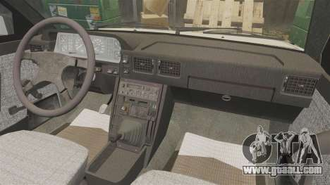 FSO Polonez Caro 1.4 GLI 16V for GTA 4 inner view