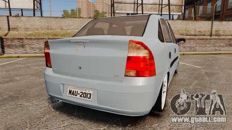 Chevrolet Corsa Premium Sedan for GTA 4 back left view