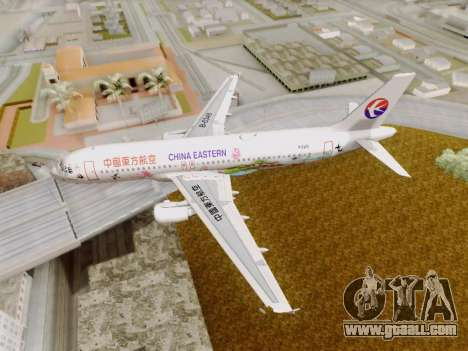 Airbus A320-211 China Eastern for GTA San Andreas side view
