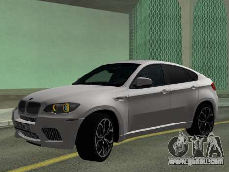 BMW X6M 2010 for GTA San Andreas left view