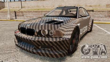 BMW M3 GTR 2012 Drift Edition for GTA 4