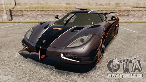 Koenigsegg One:1 for GTA 4