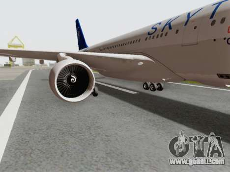 A330-202 China Eastern for GTA San Andreas back view
