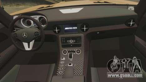 Mercedes-Benz SLS 2014 AMG Performance Studio for GTA 4 side view