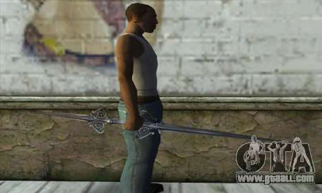 Sword for GTA San Andreas third screenshot