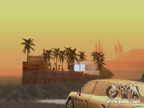 New island v1.0 for GTA San Andreas ninth screenshot